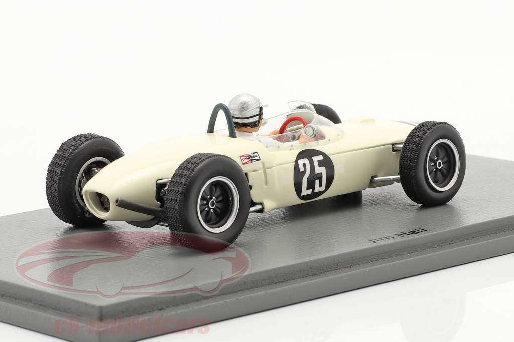 Jim Hall Lotus 21 #25 Mexicansk GP 1962 1:43 Spark