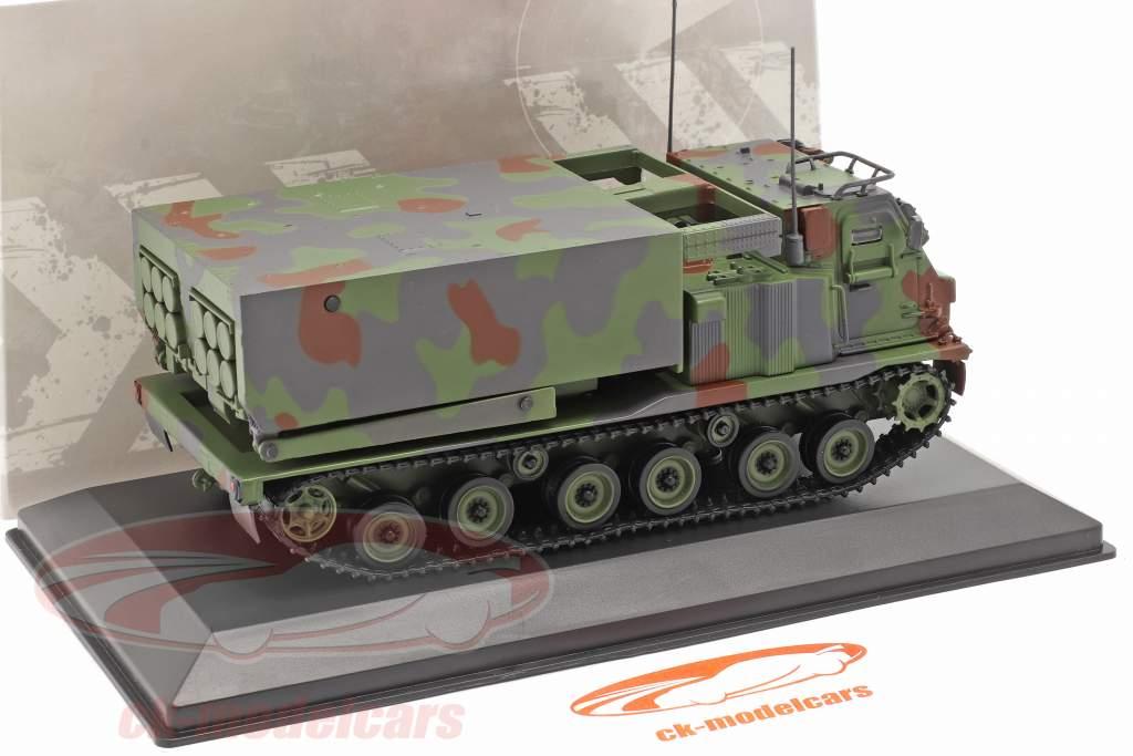 M270/A1 Raketwerper Militair voertuig camouflage 1:48 Solido