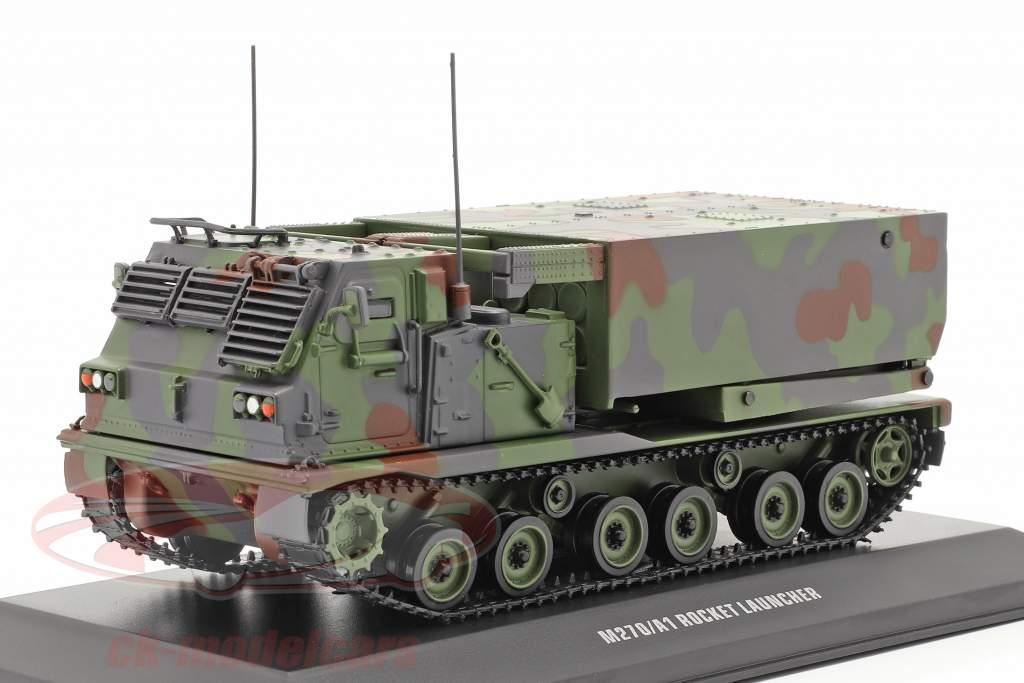 M270/A1 Lanzacohetes Vehículo militar camuflaje 1:48 Solido