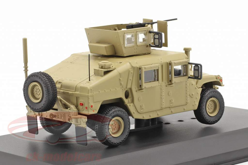 M1115 Humvee Véhicule militaire Avec arme à feu couleur sable 1:48 Solido
