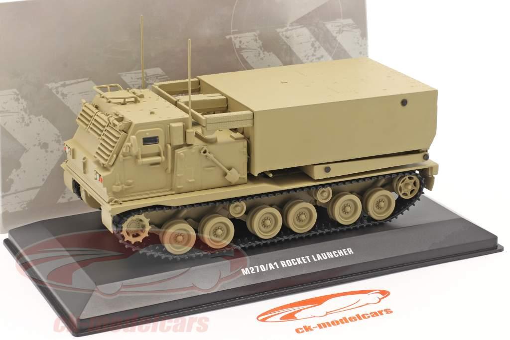 M270/A1 Raketenwerfer Militärfahrzeug sandfarben 1:48 Solido