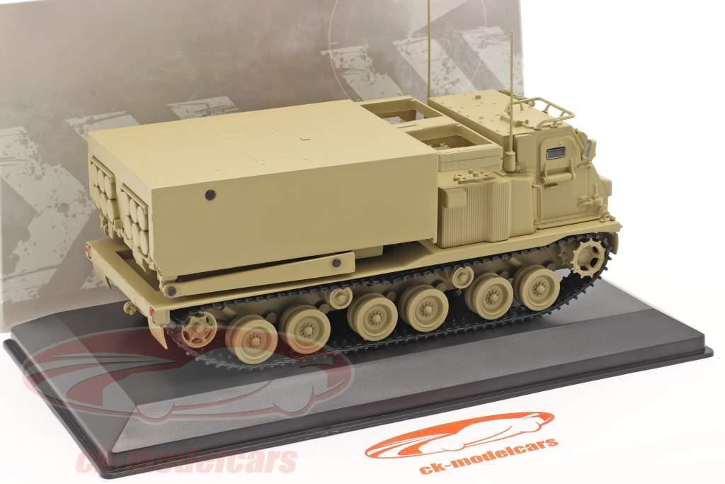M270/A1 Lanciarazzi Veicolo militare color sabbia 1:48 Solido