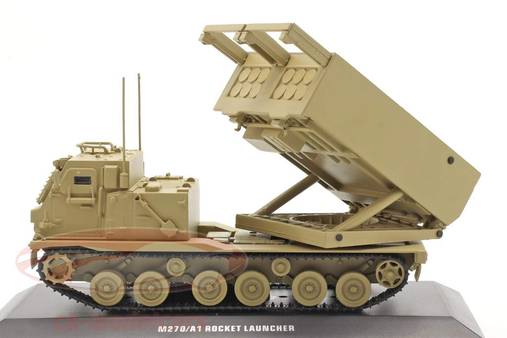 M270/A1 Raketwerper Militair voertuig zandkleurig 1:48 Solido