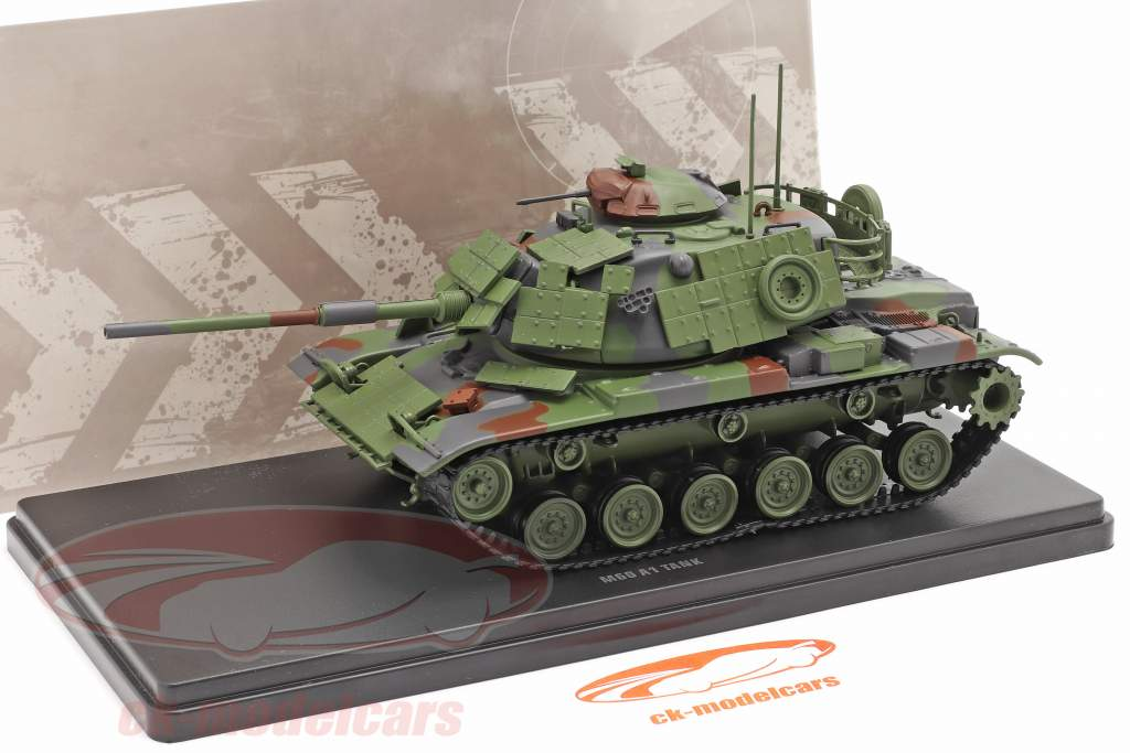 M60 A1 Char Véhicule militaire camouflage 1:48 Solido