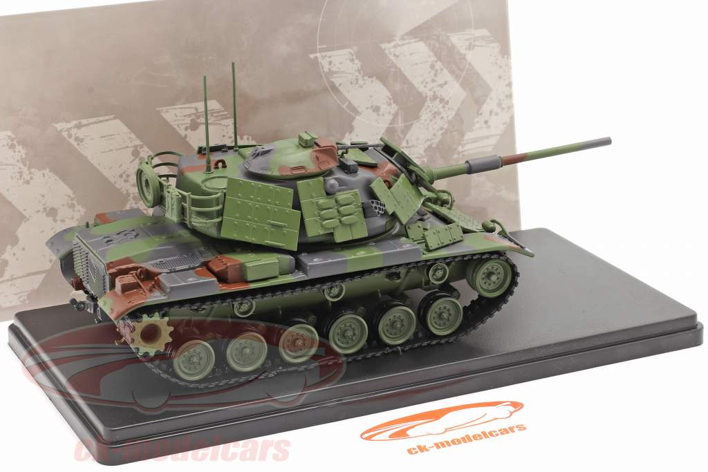 M60 A1 tank Militair voertuig camouflage 1:48 Solido