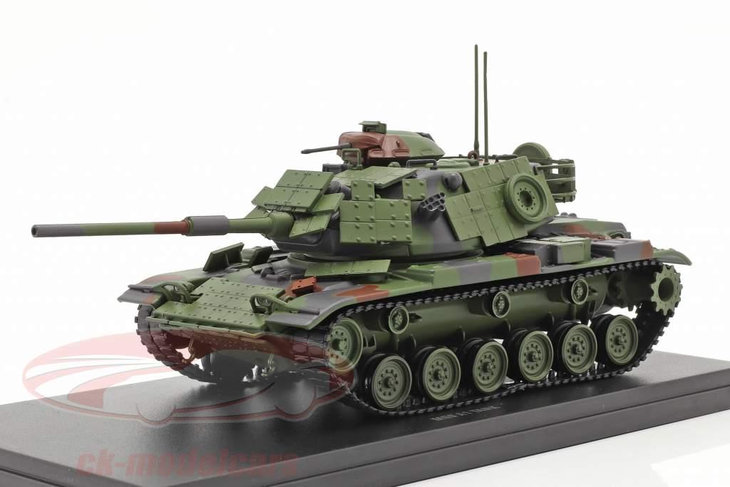 M60 A1 Panzer Militärfahrzeug tarnfarben 1:48 Solido