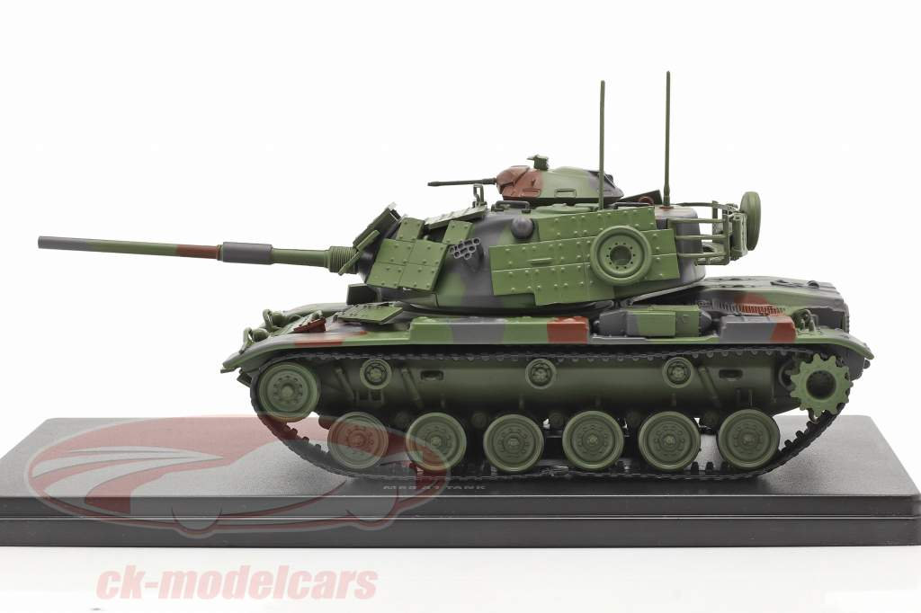 M60 A1 tank Military vehicle camouflage 1:48 Solido
