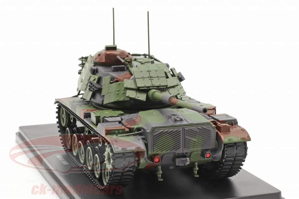 M60 A1 tanque Vehículo militar camuflaje 1:48 Solido