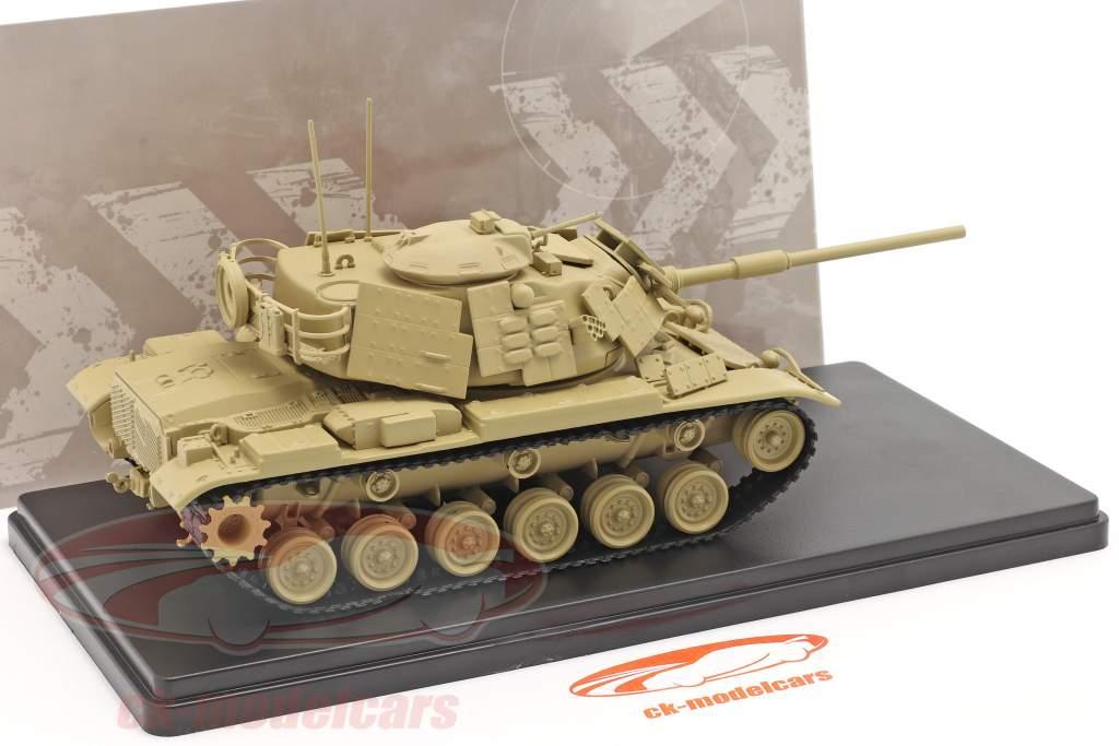 M60 A1 Char Véhicule militaire couleur sable 1:48 Solido