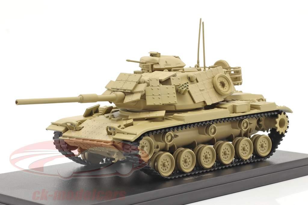 M60 A1 carro armato Veicolo militare color sabbia 1:48 Solido