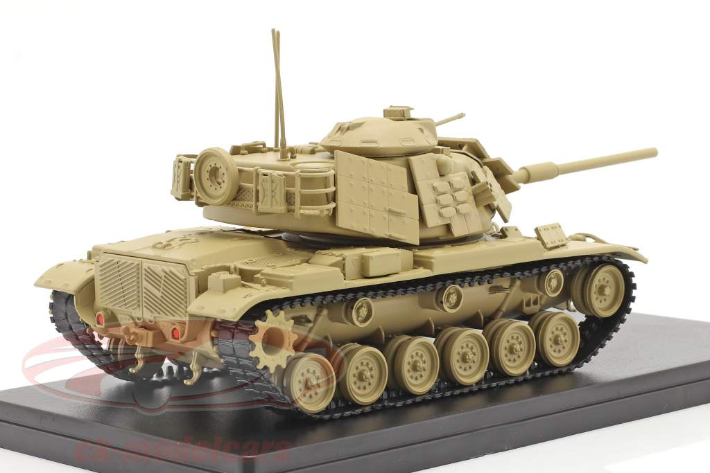 M60 A1 tank Military vehicle sand colored 1:48 Solido