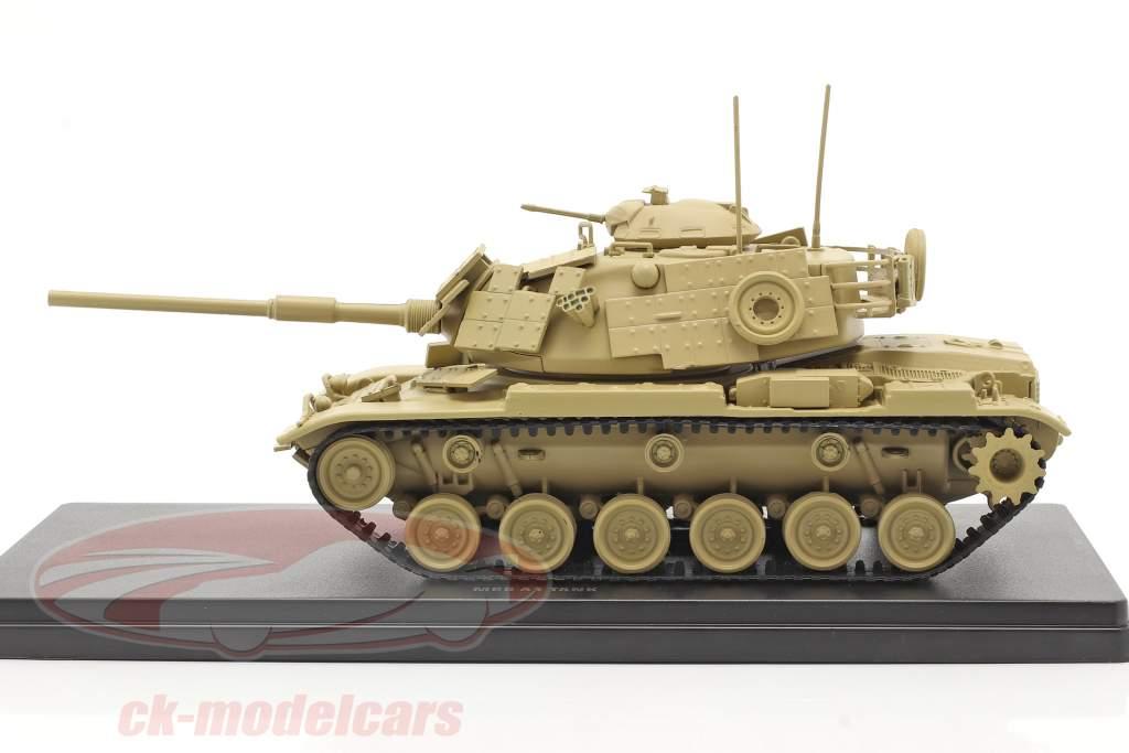 M60 A1 tank Militær køretøj sandfarvet 1:48 Solido