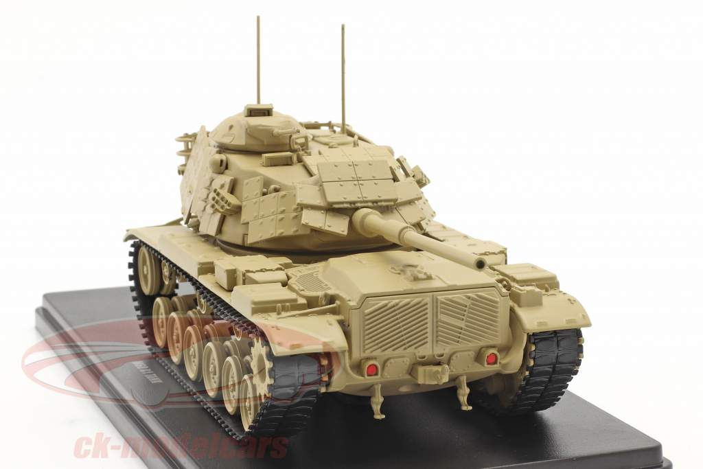 M60 A1 tanque Vehículo militar color arena 1:48 Solido