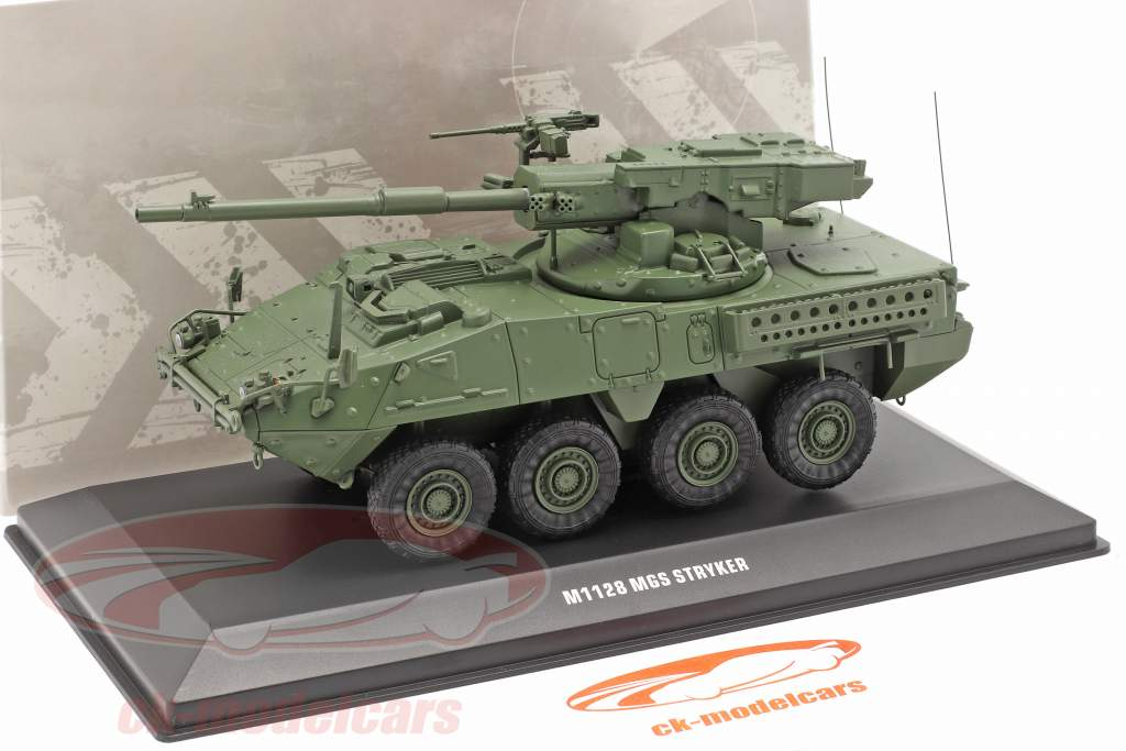 M1128 MGS Stryker Véhicule militaire camouflage 1:48 Solido