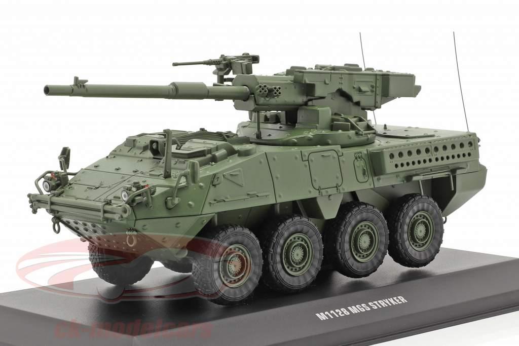 M1128 MGS Stryker Militær køretøj camouflage 1:48 Solido