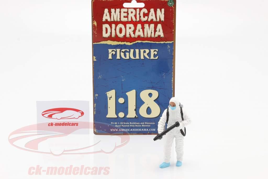 figuur 1 Hazmat Crew 1:18 American Diorama