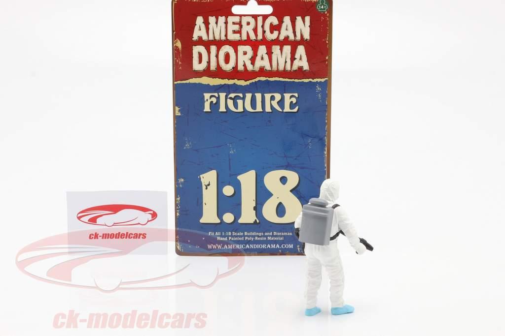Figure 1 Hazmat Crew 1:18 American Diorama