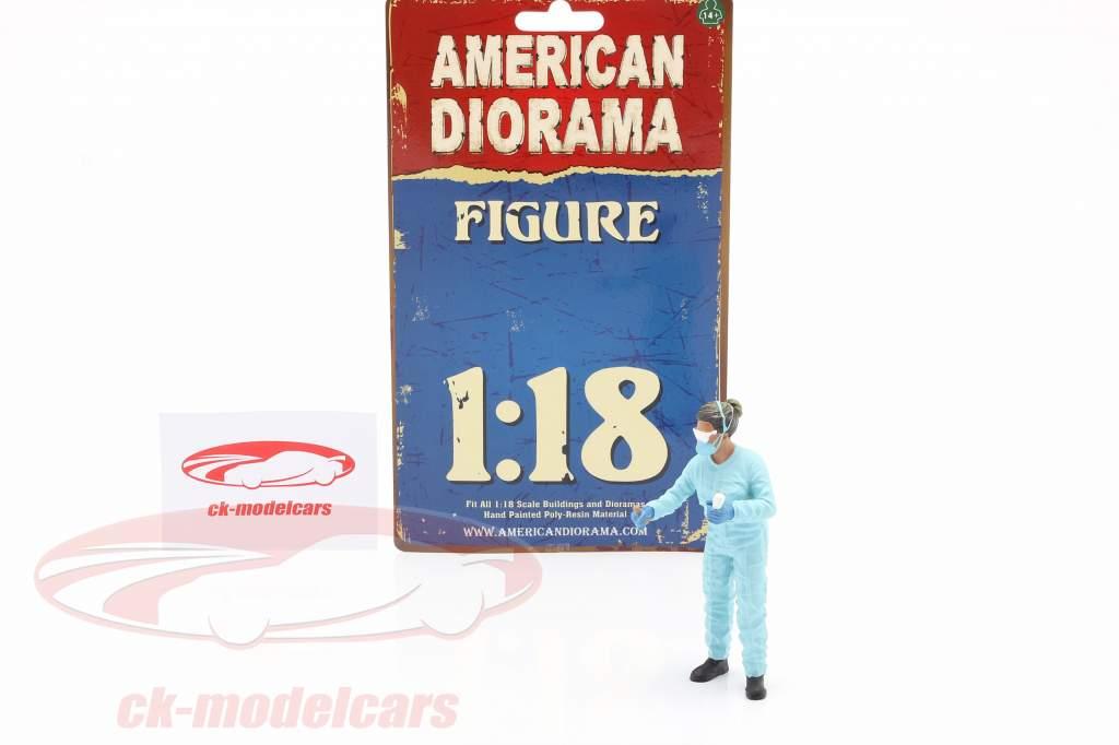 figuur 2 Hazmat Crew 1:18 American Diorama