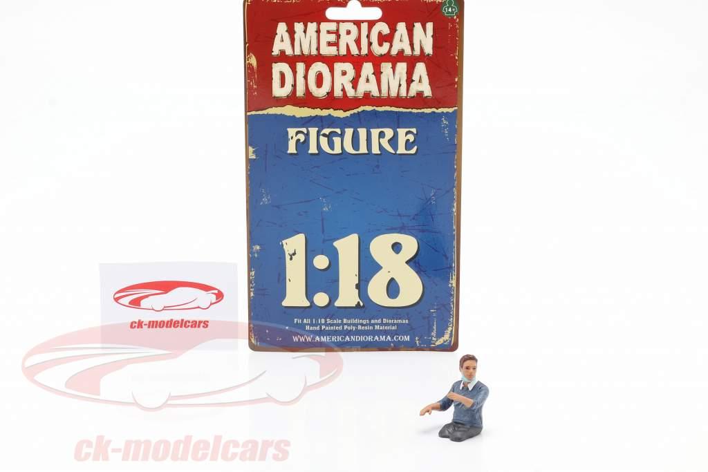 Figur 3 Hazmat Crew 1:18 American Diorama