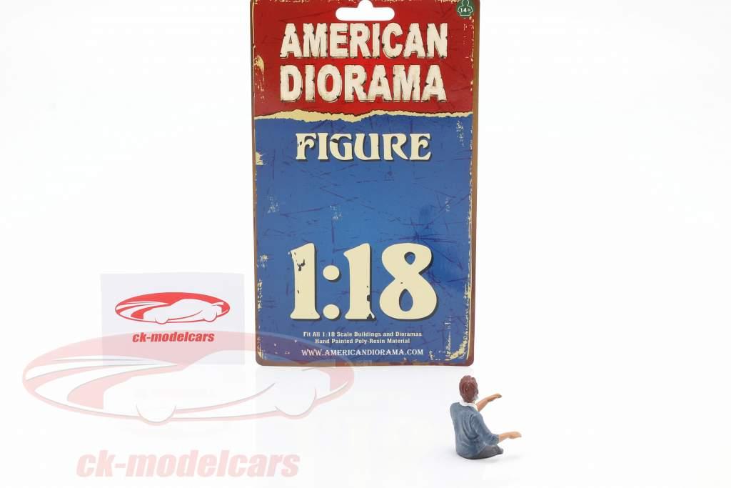 figura 3 Hazmat Crew 1:18 American Diorama