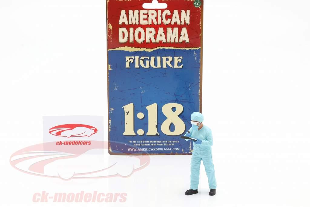 figura 4 Hazmat Crew 1:18 American Diorama