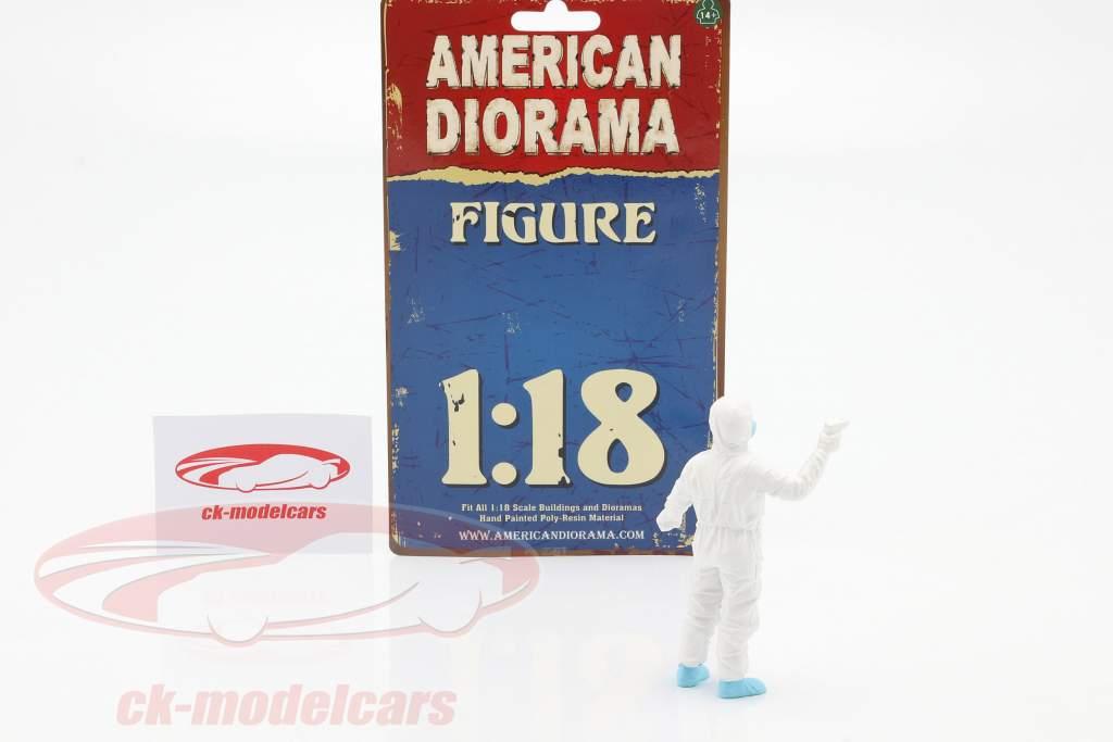figura 6 Hazmat equipaggio 1:18 American Diorama