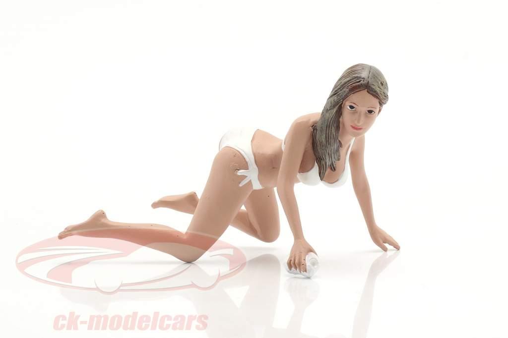 Bikini Car Wash Girl Jenny chiffre 1:18 American Diorama