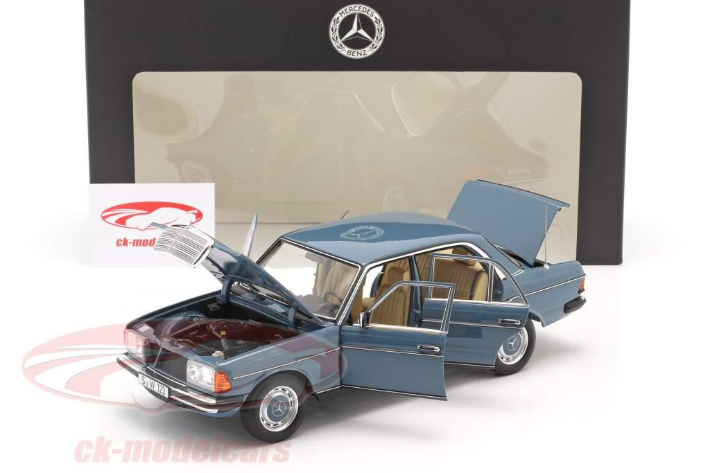 Mercedes-Benz 200 (W123) Bouwjaar 1980 - 1985 china blauw 1:18 Norev