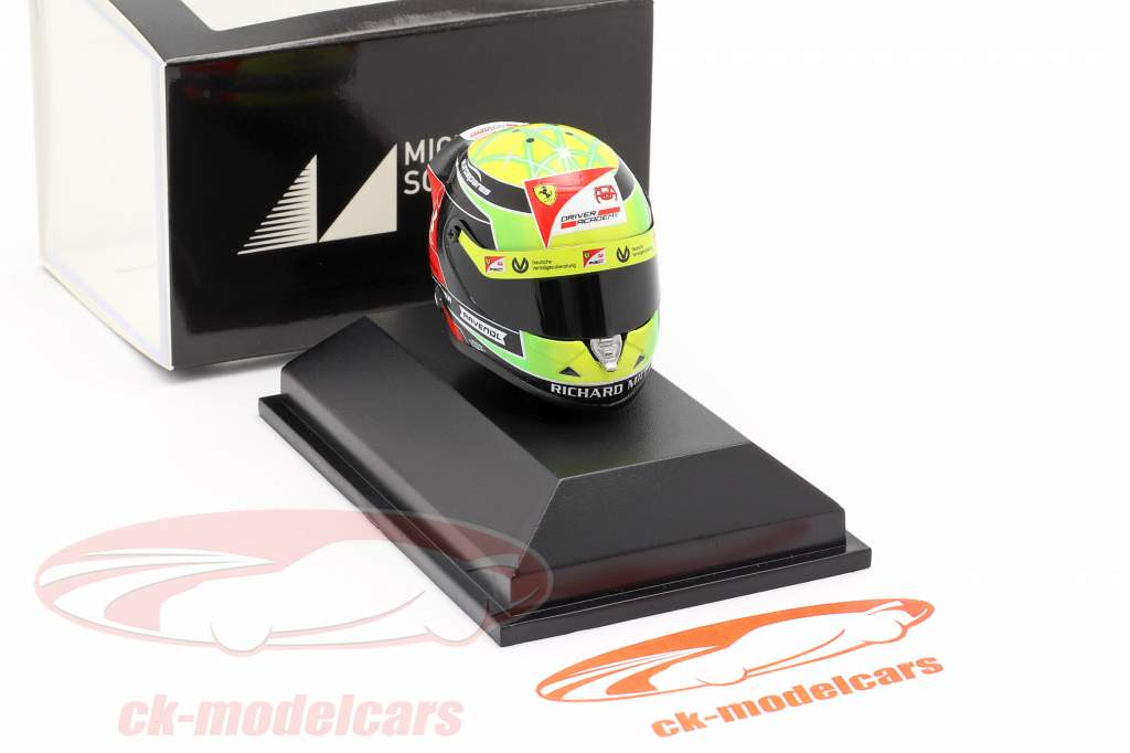 Mick Schumacher Prema Racing #9 formule 2 2019 casque 1:8 Schuberth