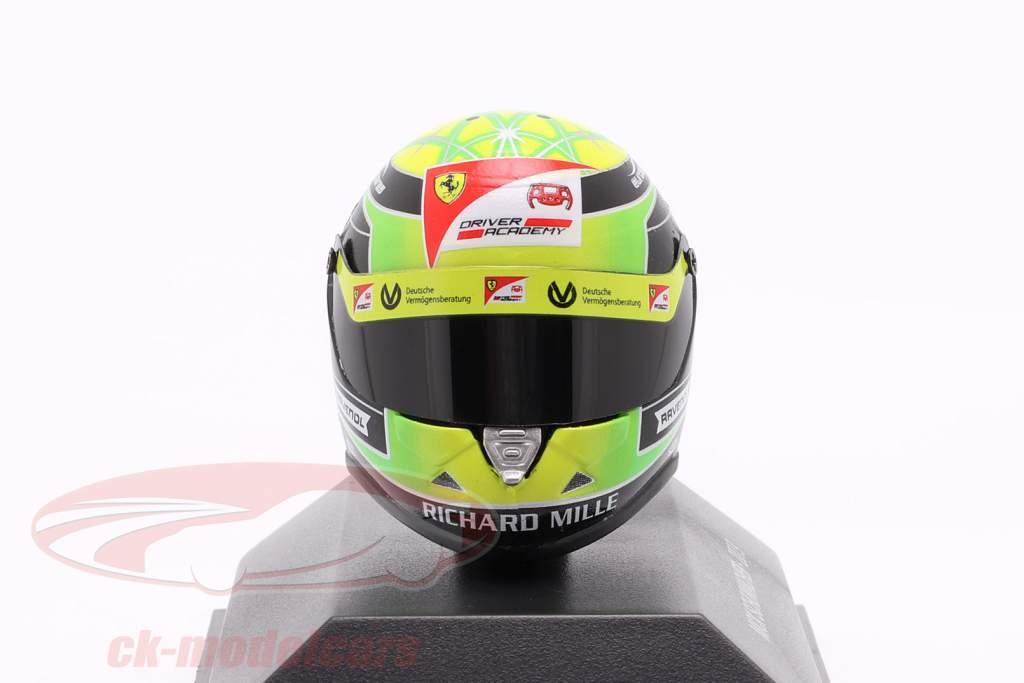 Mick Schumacher Prema Racing #9 formule 2 2019 helm 1:8 Schuberth