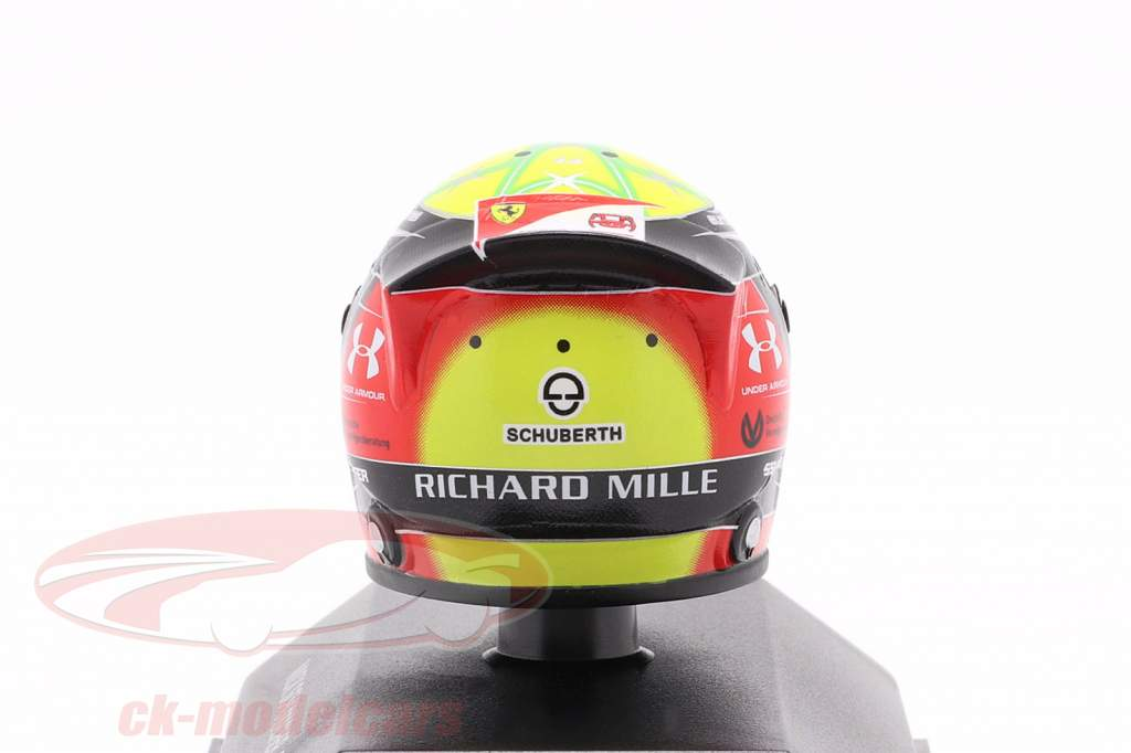 Mick Schumacher Prema Racing #9 formula 2 2019 helmet 1:8 Schuberth
