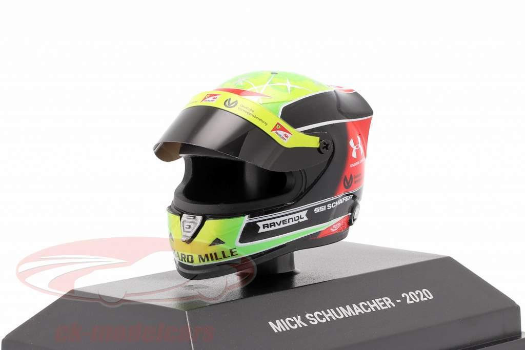 Mick Schumacher Prema Racing #20 formule 2 kampioen 2020 helm 1:8 Schuberth