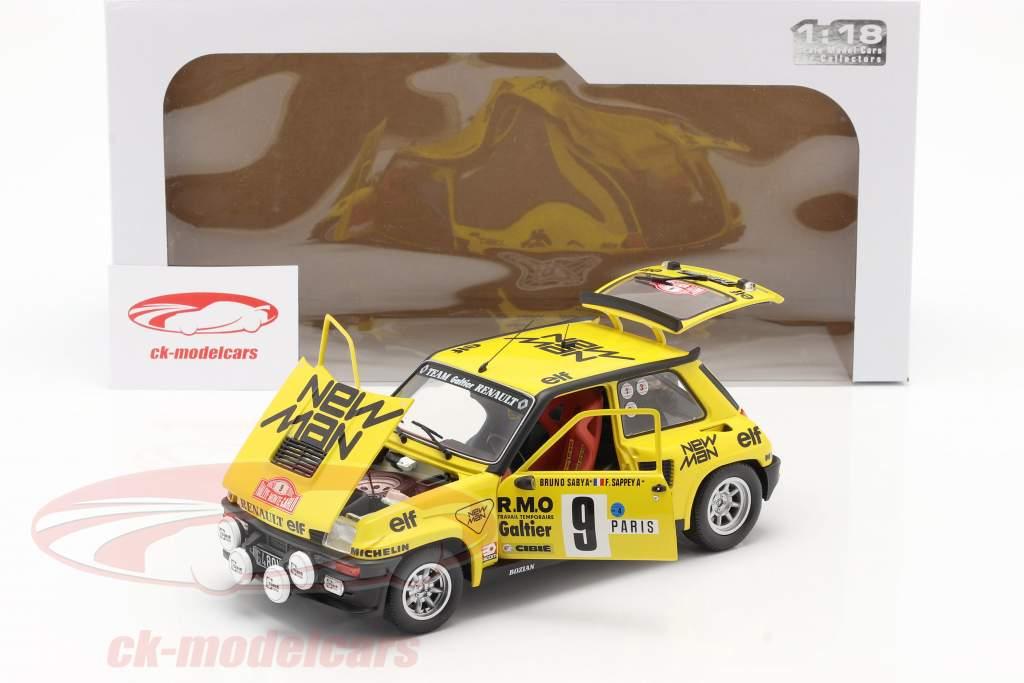 Renault 5 Turbo #9 Quinto Rallye Monte Carlo 1982 Saby, Sappey 1:18 Solido