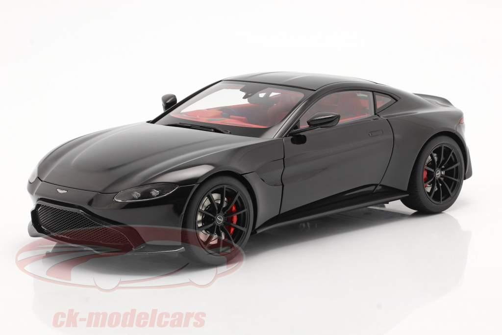 Aston Martin Vantage Byggeår 2019 sort 1:18 AUTOart
