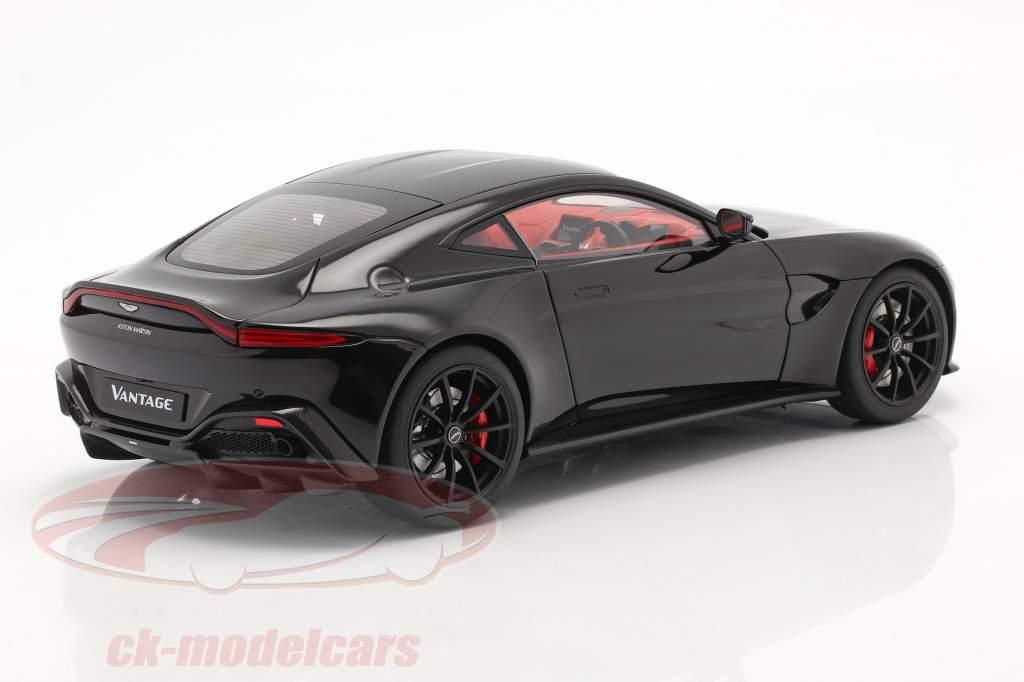 Aston Martin Vantage Ano de construção 2019 Preto 1:18 AUTOart