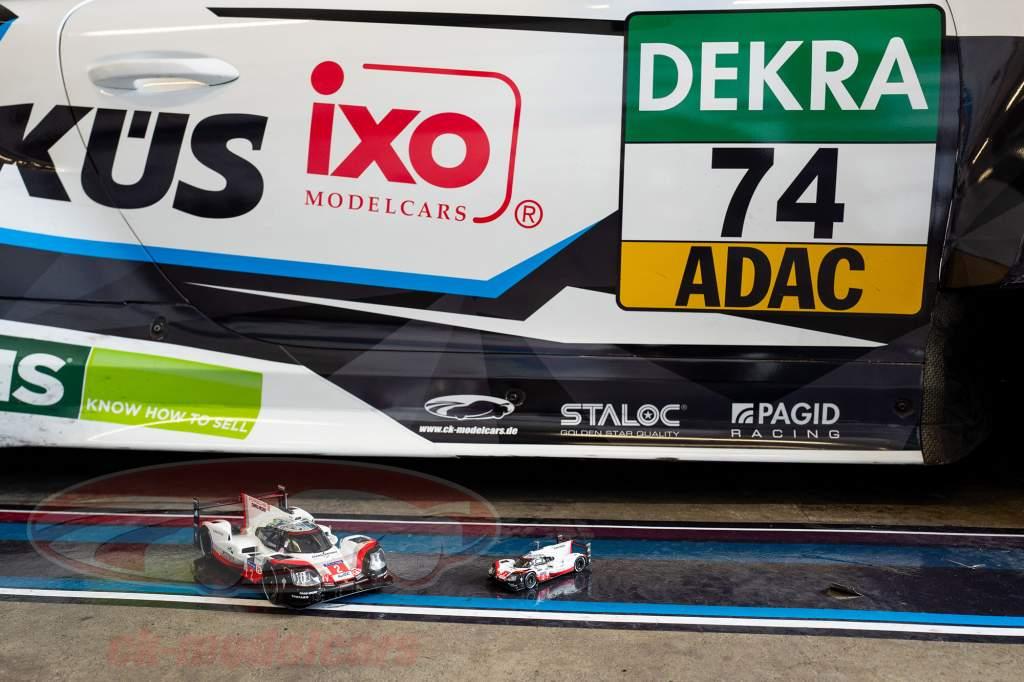 Porsche 919 Hybrid #2 vinder 24h LeMans 2017 Bernhard, Hartley, Bamber 1:18 Ixo