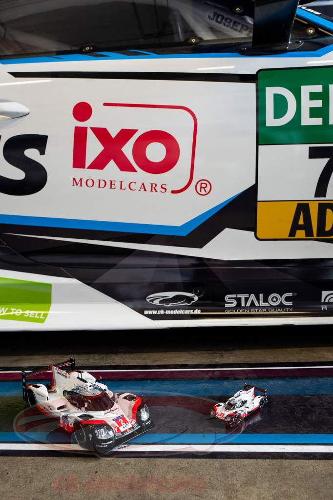 Porsche 919 Hybrid #2 Sieger 24h LeMans 2017 Bernhard, Hartley, Bamber 1:18 Ixo