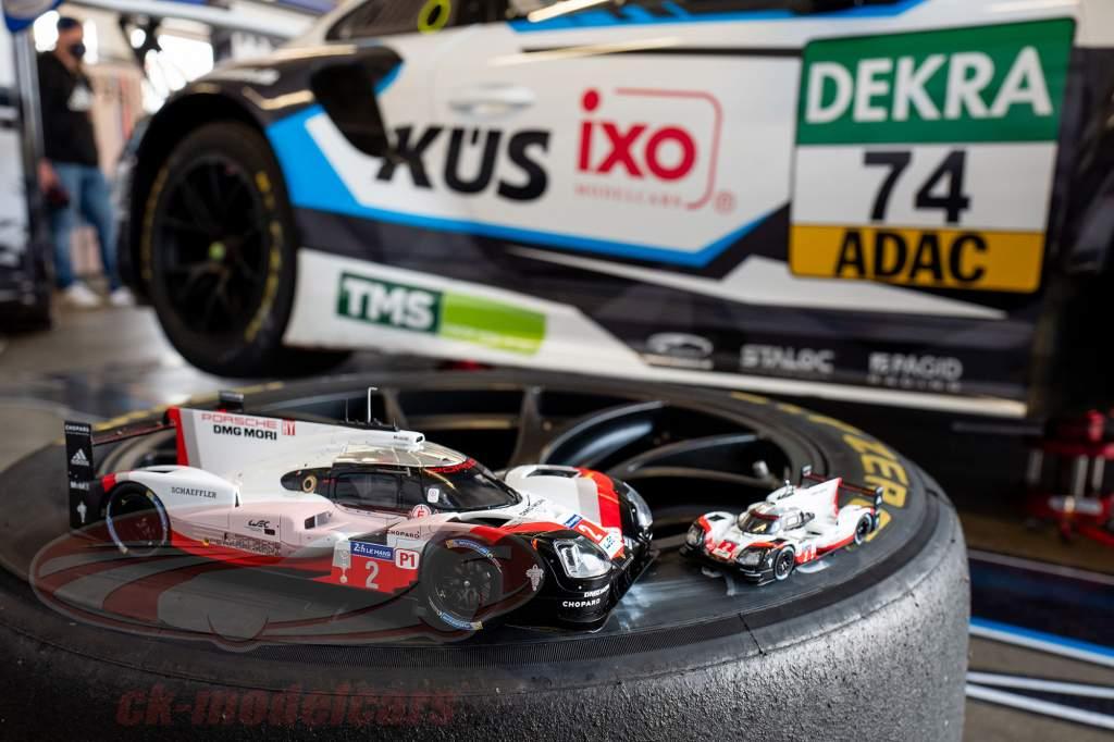 Porsche 919 Hybrid #2 Sieger 24h LeMans 2017 Bernhard, Hartley, Bamber 1:43 Ixo