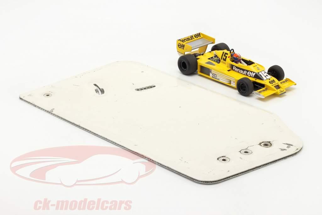Original rear wing end plate formula Renault 2.0 / ca. 26 x 48 cm