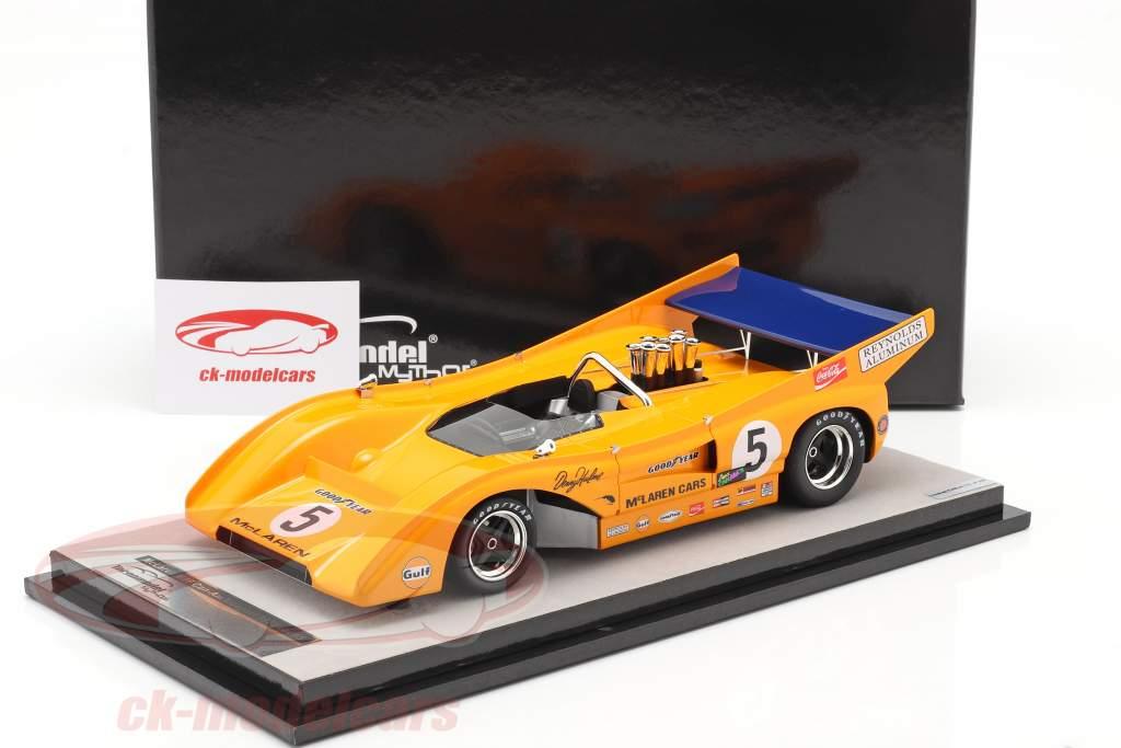 McLaren M8F #5 Vinder Mosport Park Can-Am Series 1971 D. Hulme 1:18 Tecnomodel