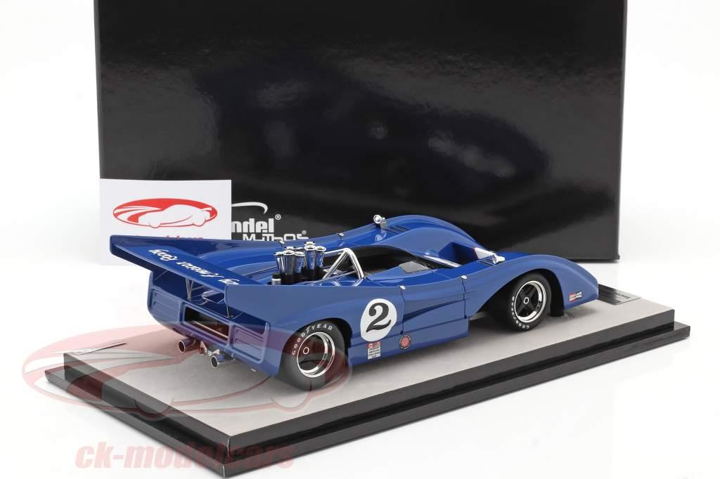 McLaren M8F #2 Watkins Glen Can-Am Series 1972 G. Young 1:18 Tecnomodel