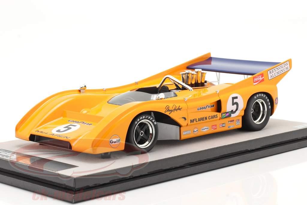 McLaren M8F #5 Gagnant Mosport Park Can-Am Series 1971 D. Hulme 1:18 Tecnomodel