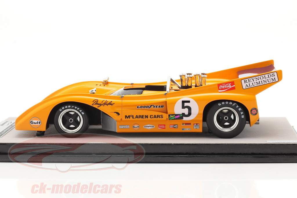McLaren M8F #5 Vincitore Mosport Park Can-Am Series 1971 D. Hulme 1:18 Tecnomodel