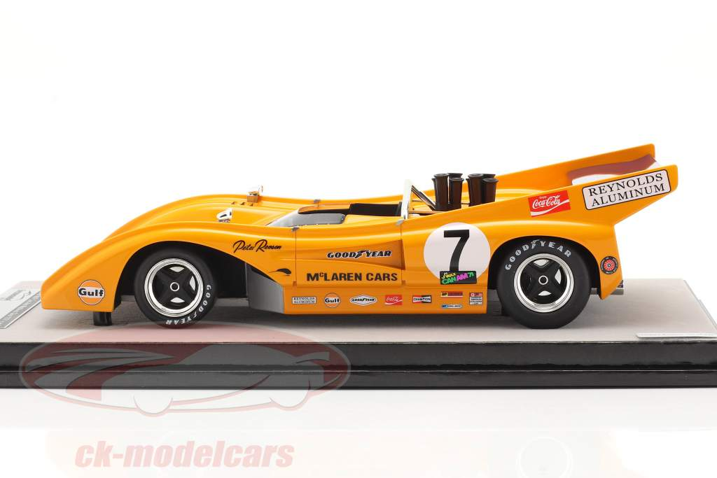 McLaren M8F #7 Vinder Watkins Glen Can-Am Series 1971 P. Revson 1:18 Tecnomodel