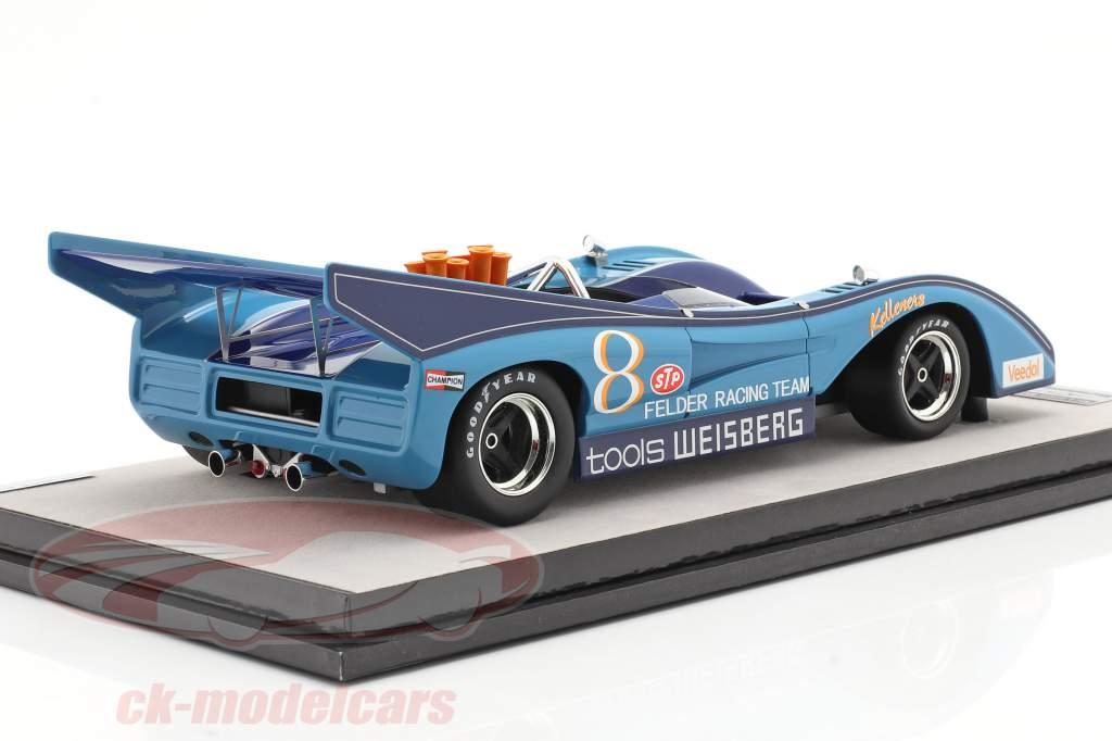 McLaren M8F #8 3rd Interserie Nürburgring 1972 H. Kelleners 1:18 Tecnomodel