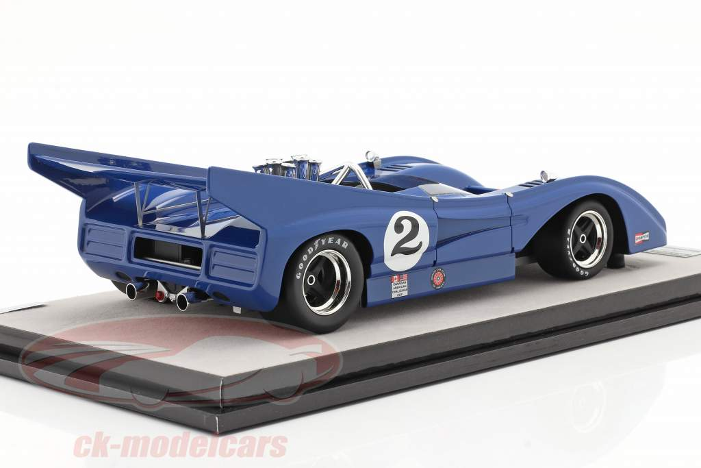 McLaren M8F #2 Watkins Glen Can-Am Series 1972 G. Young 1:18 Tecnomodel