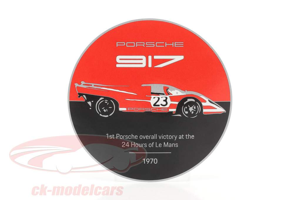plak Gitter Porsche 917K Salzburg #23 vinder 24h LeMans 1970