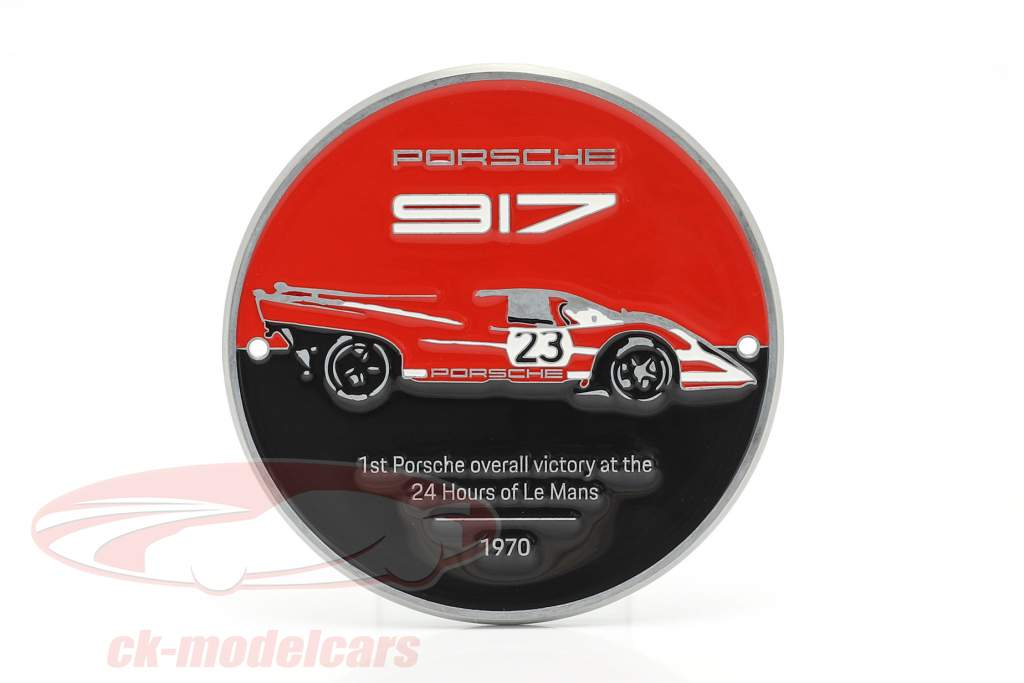 placa Grade Porsche 917K Salzburg #23 vencedora 24h LeMans 1970