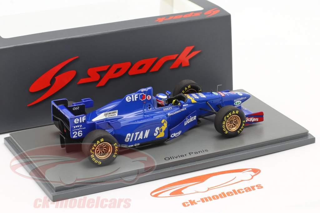 Olivier Panis Ligier JS41 #26 Cuarto canadiense GP fórmula 1 1995 1:43 Spark