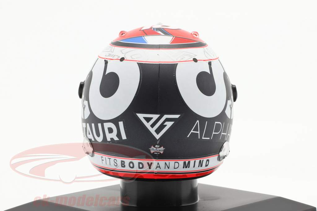 Pierre Gasly #10 Scuderia Alpha Tauri Honda formel 1 2020 hjelm 1:5 Spark